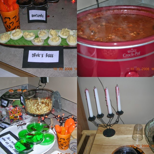 Mad Scientist's Lab Halloween Party food 2