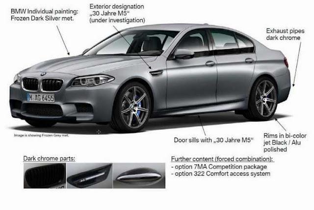 Keistimewaan BMW 30 Jahre M5