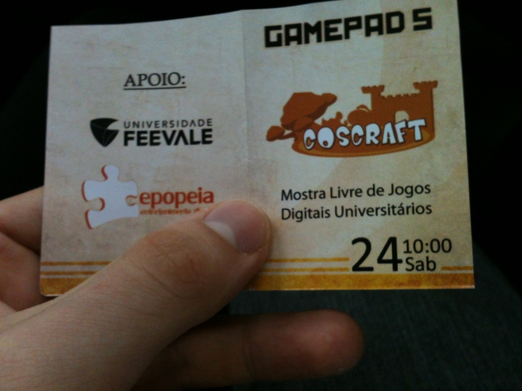mostra jogos universitarios v gamepad feevale