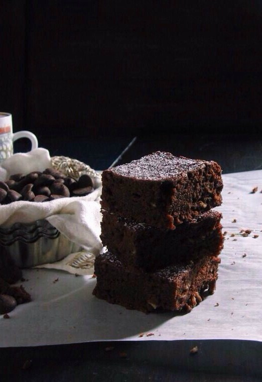 spiced Guinness brownies | une gamine dans la cuisine