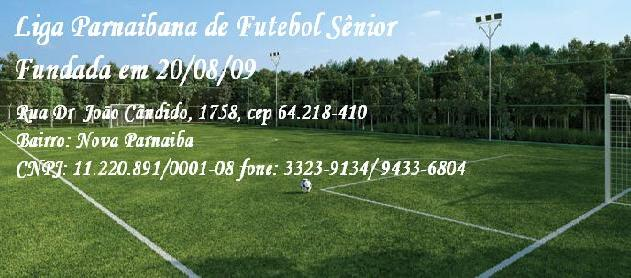 Futebol Sênior em Parnaíba - Piauí