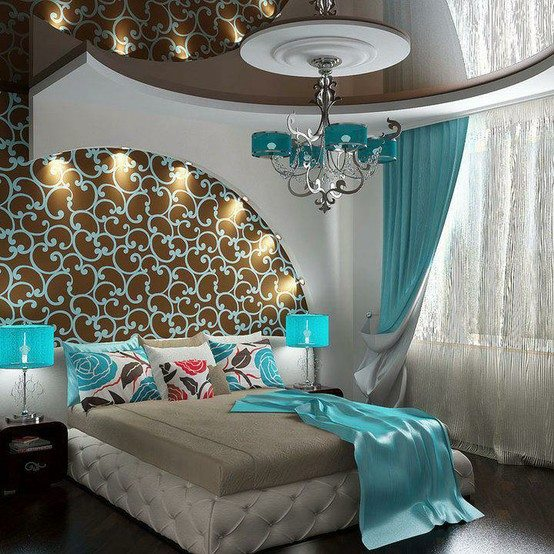 Ideas para Decorar de Dormitorios Turquesa