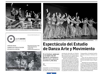 Arte y movimiento desde 1985 con la danza espect culo fin for Paginas del espectaculo