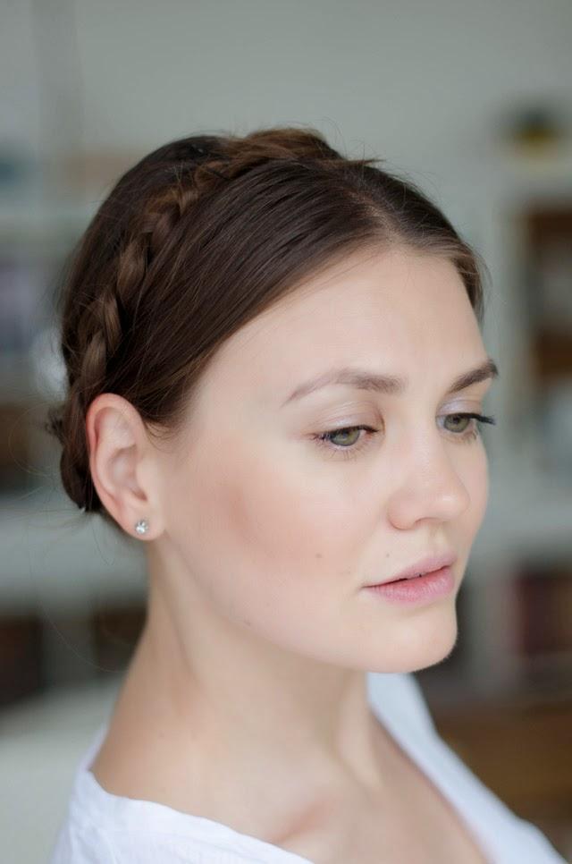 Braided Heidi Hair Style with KMS California