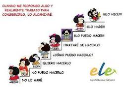 Mafalda se pone metas