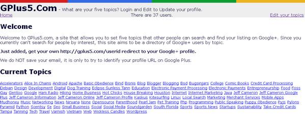 10 Sites to Create Shortened Google Plus Profile URL: GPlus5.Com