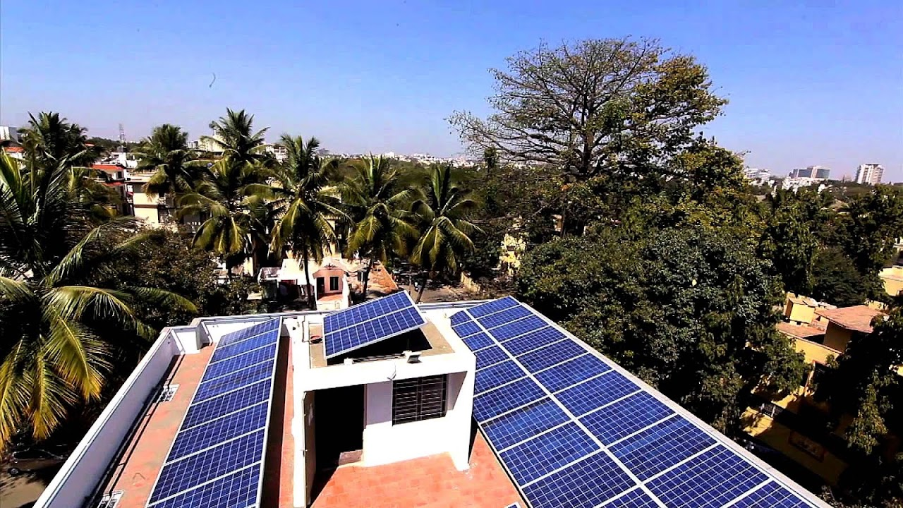 solar power in india