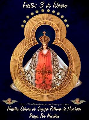 Madre de Dios advocación de nuestra señora de Suyapa