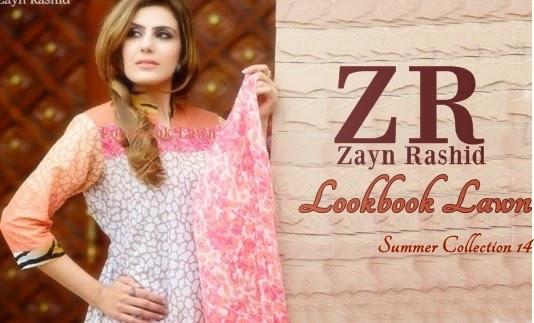 Zayn Rashid Lawn 2014