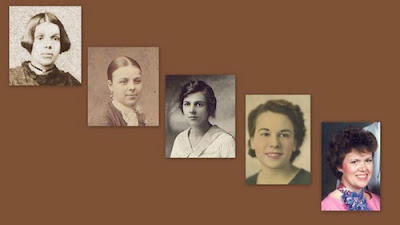 Olive Tree Genealogy Blog: 5 Generations of Mothers