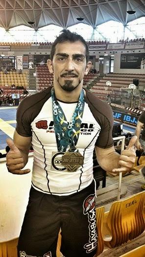 Medaglia di Bronzo Europeo No Gi 2014