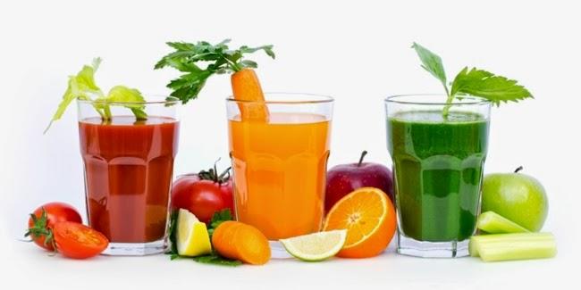 Kesehatan : Jus dan Buah Segar