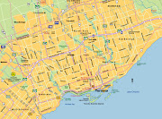 Toronto Map City Area (map of toronto)