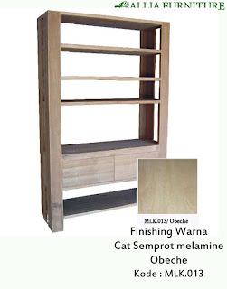 Contoh Furniture Semprot Melamine Obeche