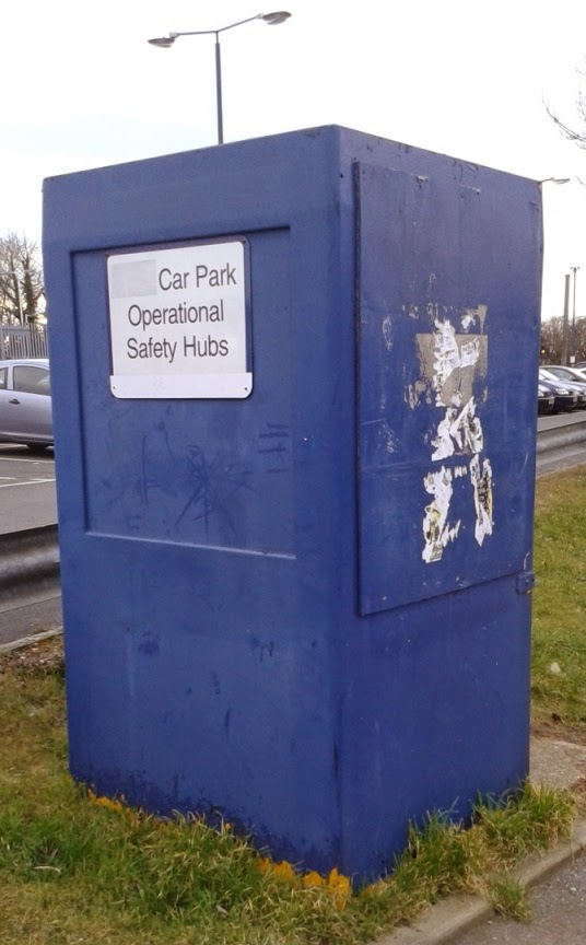 Car Park Operational Safety Hub at Leagrave Station in Luton