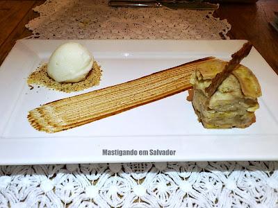 Hotel Villa Bahia: Torta de Banana com Sorvete de Tapioca