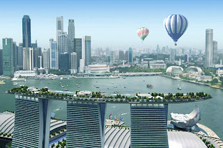 Sands SkyPark at Marina Bay Sands - Singapore