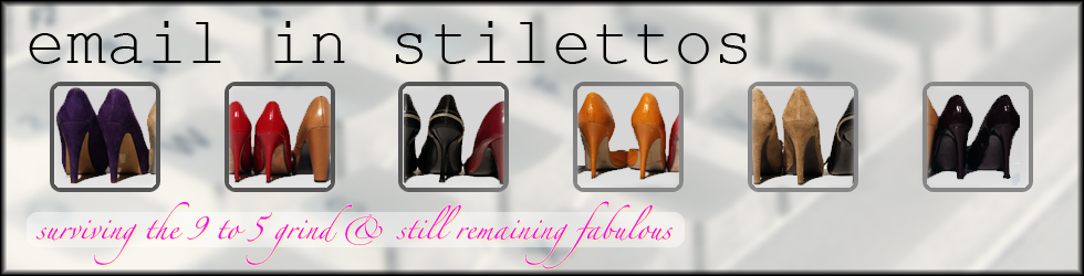 email in stilettos
