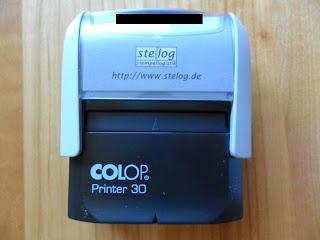 Stempel für Name Adresse Telefon kaufen günstig Stelog Online drucken