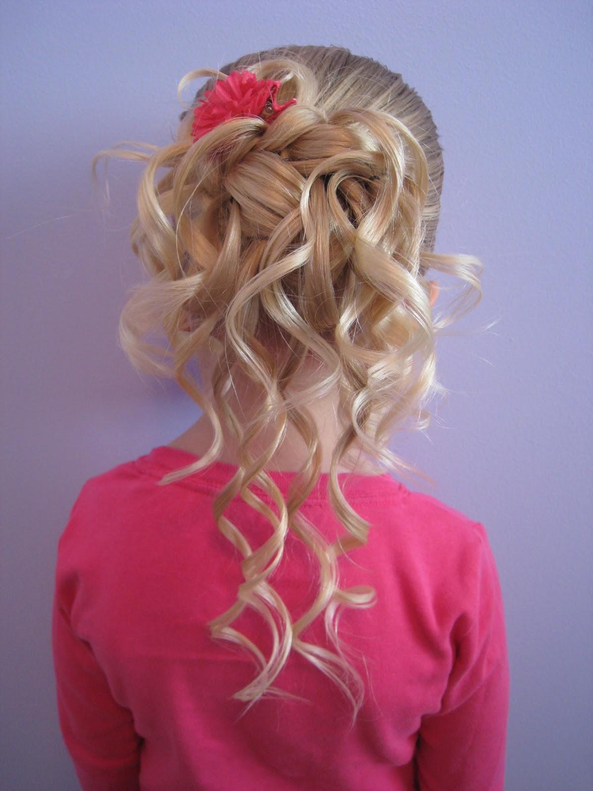 Причёски на длинные волосы фото девочкам