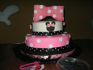 Minnie Mouse cakes for children parties