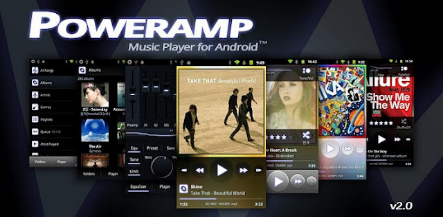 Poweramp Music Player (Full) v2.0.8-build-519 APK
