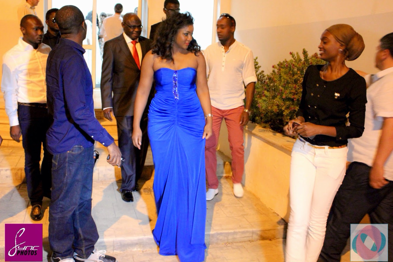 Actress  Omotola Jalade Ekeinde Receives ASGA Award From Cyprus    Omotola Jalade Ekeinde 2014