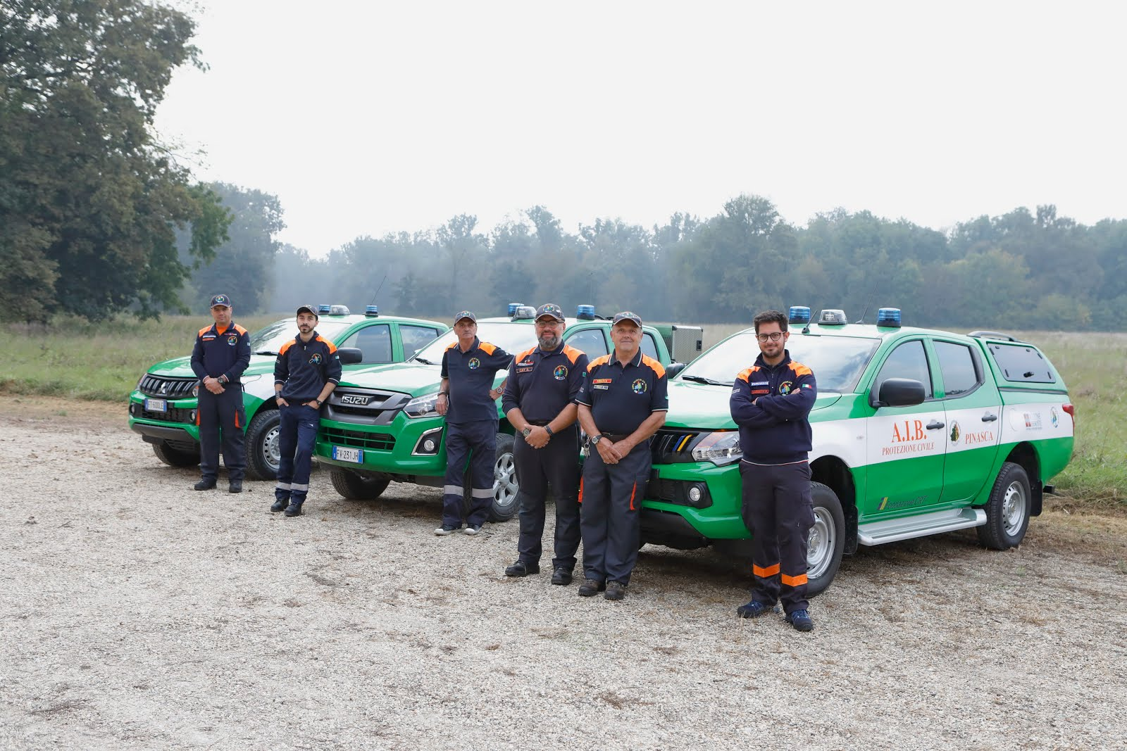 AIUTO CRT PER MEZZI Protezione civile