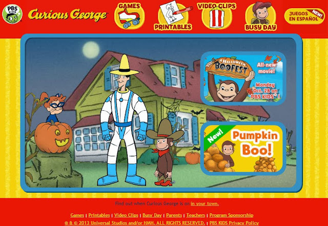 Curious George Halloween Boo Fest Watch Online