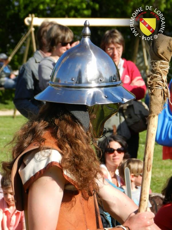SION (54) - Journée gallo-romaine - Guerrier gaulois