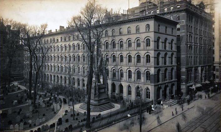 New York - History - Geschichte: Lower Manhattan - A journey through