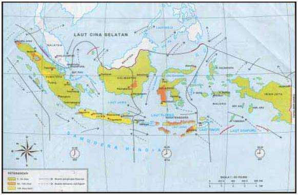 peta cuaca di indonesia di bawah ini contoh peta pembagian waktu ...