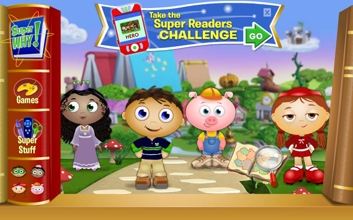 SUPER WHY  DISCOVERY KIDSSuper Why