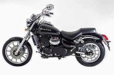 nova moto Dafra Horizon 250 2014