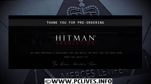 hitman sniper challenge pc game pre order purchased