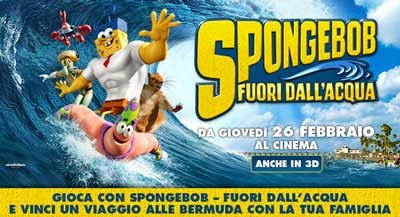 gioca con SpongeBob - Fuori dall'acqua