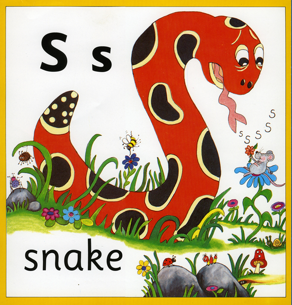 Letter S Phonics Song