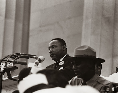 Edward B Footmon and Dr. Martin Luther King Civil Rights March on Washington, D.C.