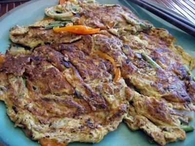 Chinese Vegetable Pancake