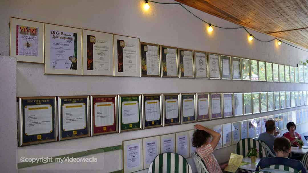 awards for excellent wine - Rainer Heil