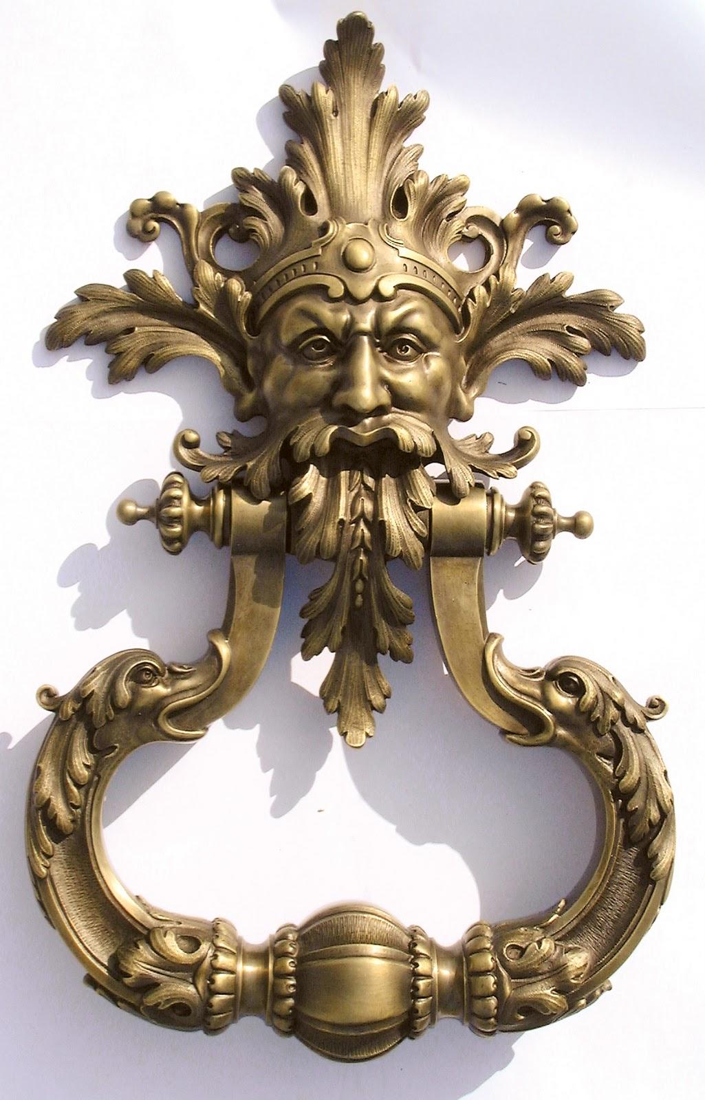 Hooked on hardware a conversation with bronzes de france - Cool door knocker ...