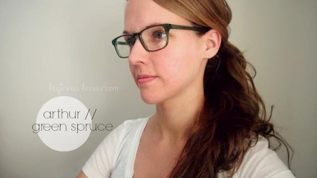 Warby Parker eyewear: arthur // green spruce