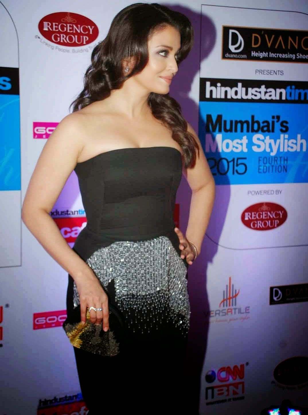 Aishwarya Rai at HT Mumbai Most Stylish Awards 2015 Stills
