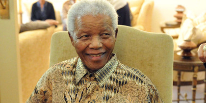 Nelson Mandela is 95 years old