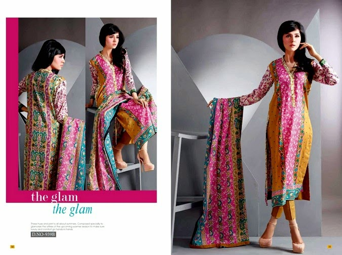 Jubilee Long Shirt Lawn Vol-3