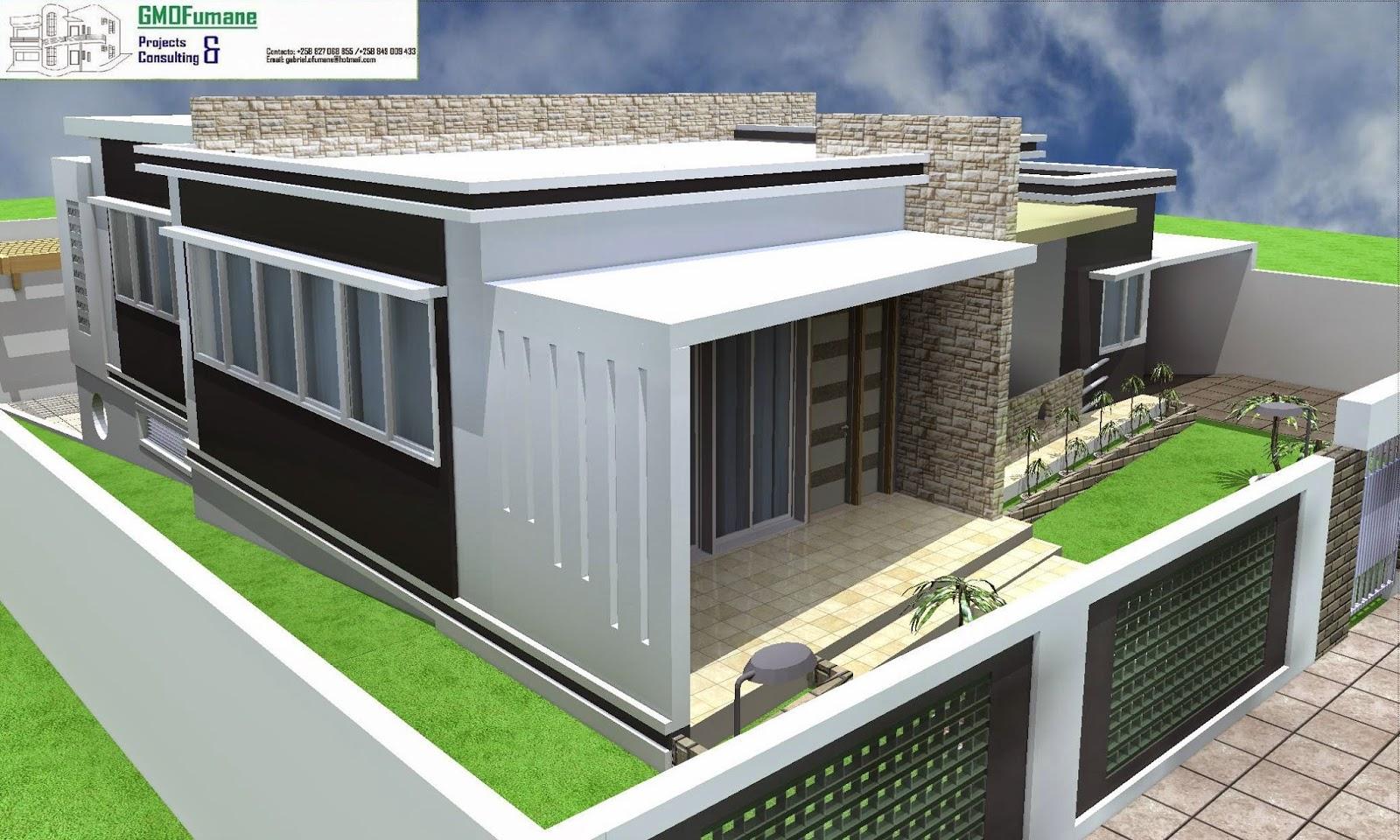 Plantas de casas modernas tipo 3 com suite planta tipo 3 for Plantas de casas tipo 3 modernas