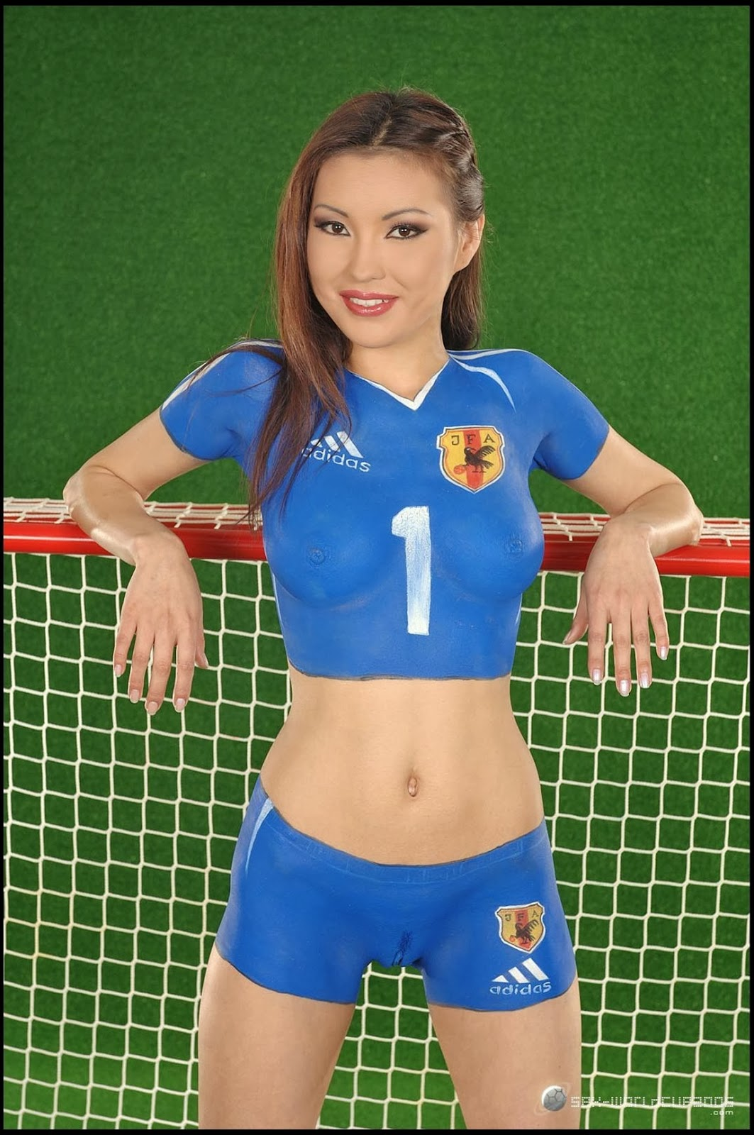 super hot nude body painted soccer girls photos collection 2013