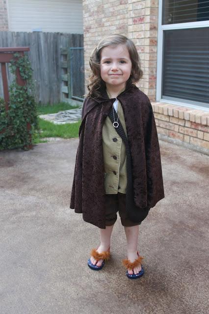 Disfraz de Frodo