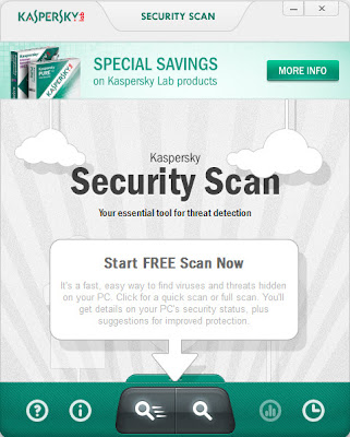 Kaspersky Security Scan , remove hidden virus n threats   , free virus scanner