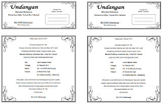 Download Contoh Undangan Tahlil Ms Word